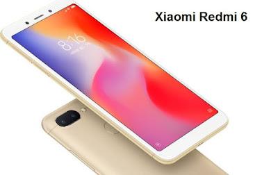 Xiaomi Redmi 6 With AI Face Unlock | Mediatek P22 Octa core | 3GB | 32GB