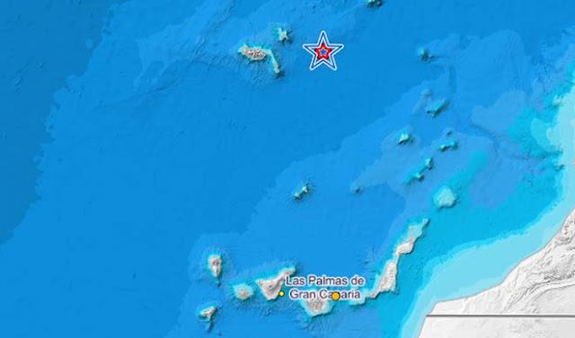 El Atlántico Madeira siente un terremoto de magnitud 4,2 grados