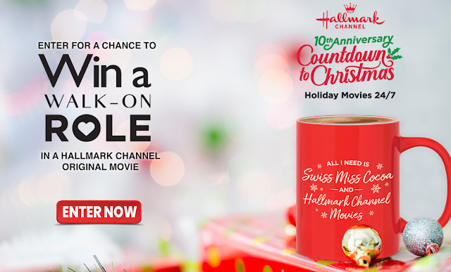 The Hallmark Channel along with Orville Redenbacher and Swiss Miss want you to enter daily for a chance to win a walk on role in an original Hallmark Channel Movie!