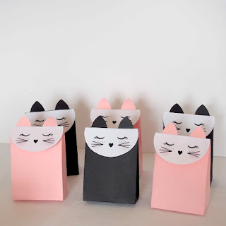cat party favor bags