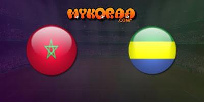 بث مباشر مشاهدة مباراة المغرب و الجابون الودية 15/10/2019