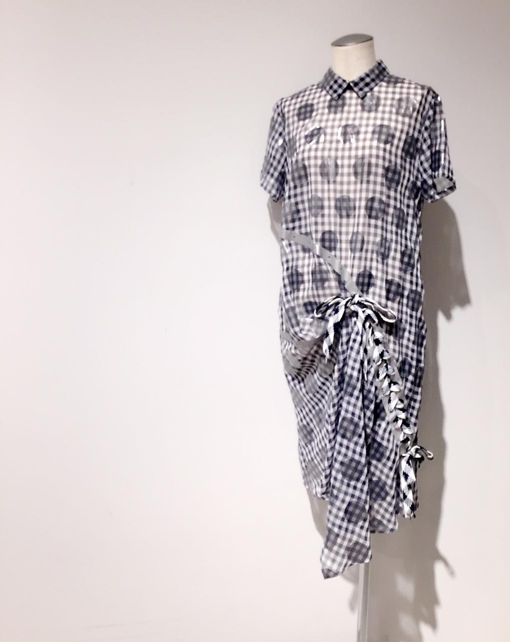 mintdesigns【ミントデザインズ】CHECK STRING DRESS◎香川・綾川店