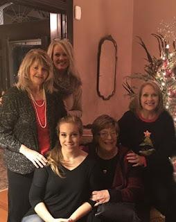 Betty S Morton and family