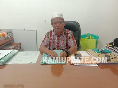 Kepala Dinas Sosial Kabupaten Fakfak, Bpk  Drs. Abdul Karim.