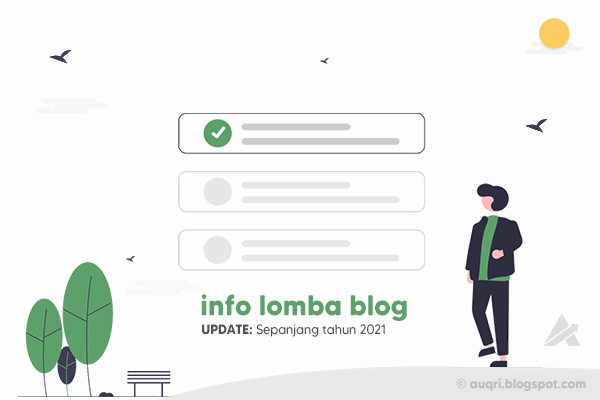Info Lomba Menulis Blog Competition dan Kontes SEO 2020 - 2021