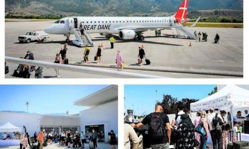 Τους τουρίστες που έχουν προορισμούς την Πάργα, τα Σύβοτα και τους Αγίους Σαράντα υποδέχθηκε στο αεροδρόμιο η Ένωση Ξενοδόχων Ιωαννίνων.