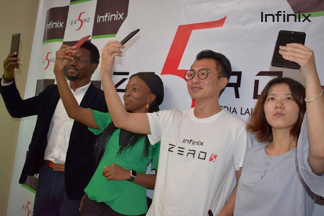 Infinix Mobility Announces Infinix Zero 5 As Its Flagship Model For 2017 in Nigeria 2