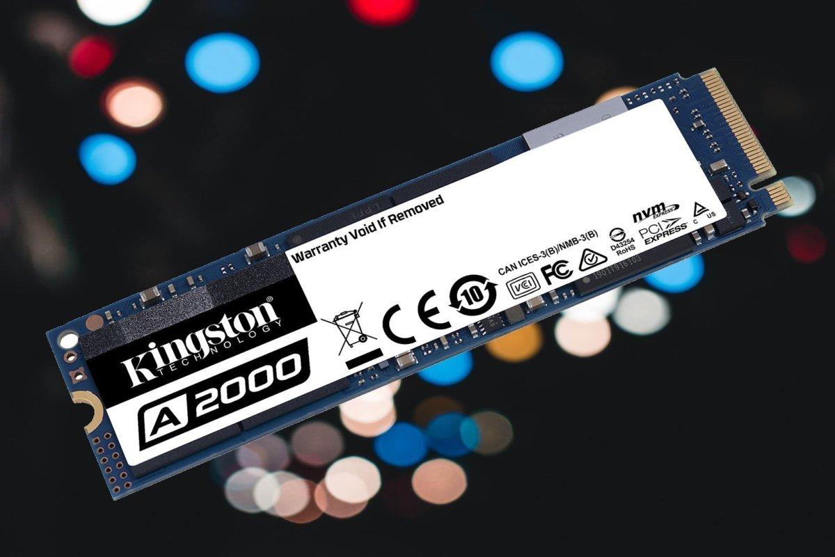 Kingston A2000 NVMe SSD: Cepat Dan Murah, Dengan Harga Rp. 1000  per Gigabyte