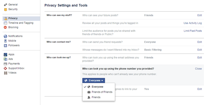 Change this Facebook Privacy Setting, which allows Hackers to Steal Your Identity