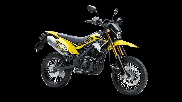 Letak Nomor Rangka dan Nomor Mesin Kawasaki D-Tracker 150