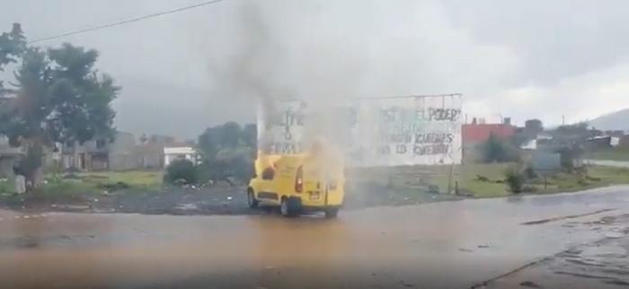Video: Sicarios e Indígenas impidieron la instalación de 100 casillas en Michoacán, los Indígenas hasta quemaron una camioneta de MercadoLibre