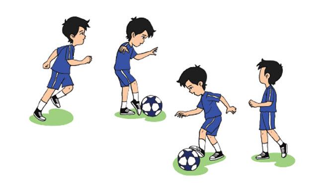 Menggiring Bola