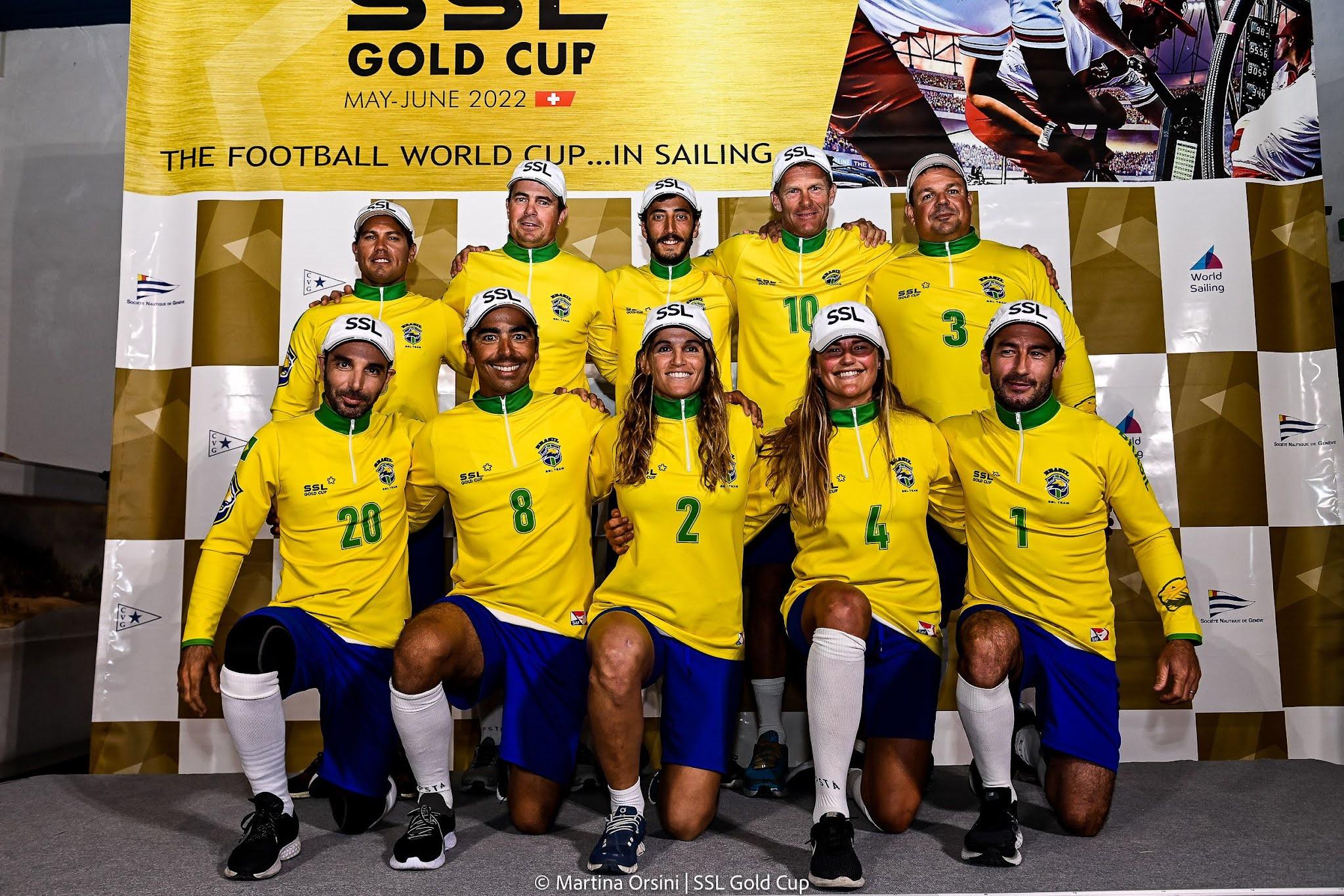 Equipe brasileira de vela na SSL Gold Cup