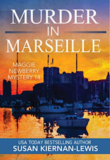 Murder in Marseille - a pageturner mystery book promotion sites by Susan Kiernan-Lewis