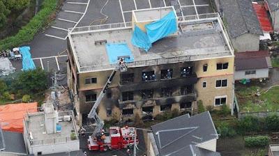 33 Korban Tewas dalam Kebakaran di Kyoto Animation, Jepang Terguncang
