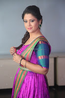 Shilpa Chakravarthy in Purple tight Ethnic Dress ~  Exclusive Celebrities Galleries 071.JPG