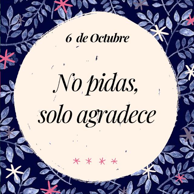 Frase del Día 6 de Octubre