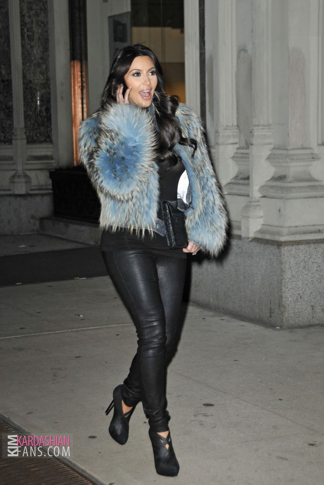 Kim kardashian style new york city new pictures