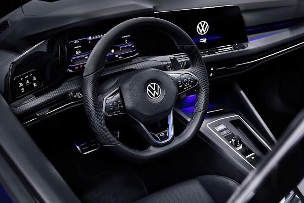 VW Golf R 2022 Mk8: teste mostra 100 km/h em 4,4s - vídeo