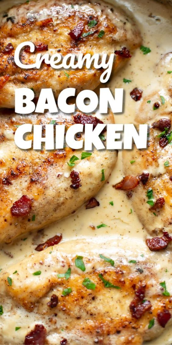Creamy Bacon Chicken Recipes