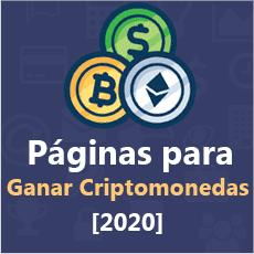 paginas para ganar criptomonedas en 2020