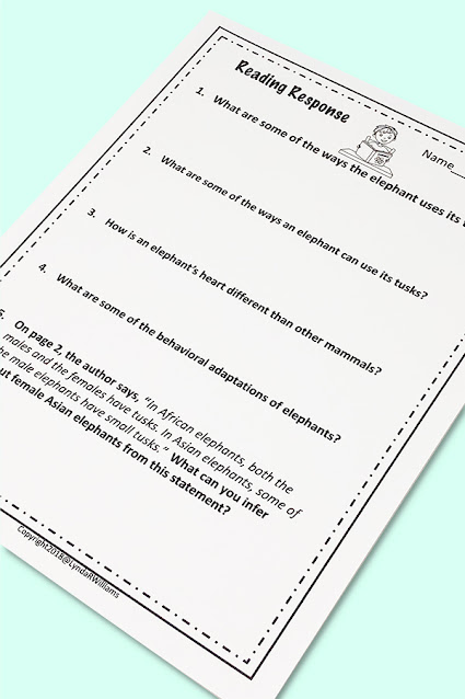 Worksheets 4th Grade Science
