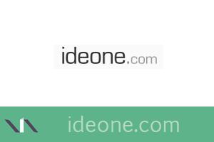 Ideone, compilador y depurador en línea