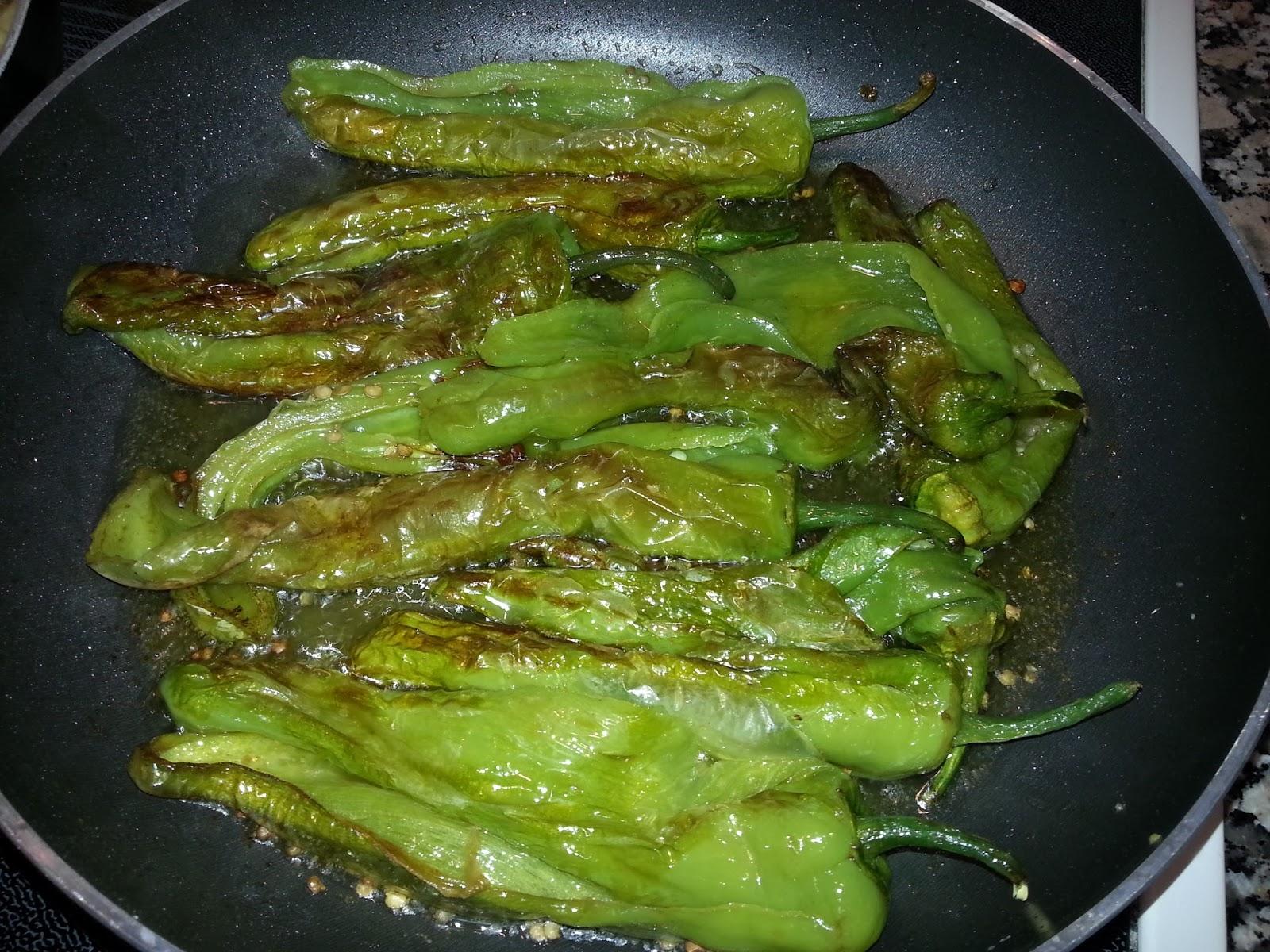 Recetas de toda la vida cocinar sencillo como me ense - Como hacer pimientos verdes fritos ...