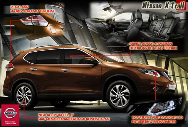 MOBIL SUV NISSAN X-TRAIL