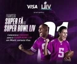 Cadastrar Promoção Bradesco Visa Viagens Miami Super Bowl LIV