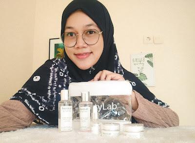 paket glow infusion series beauty lab ada 5 produk