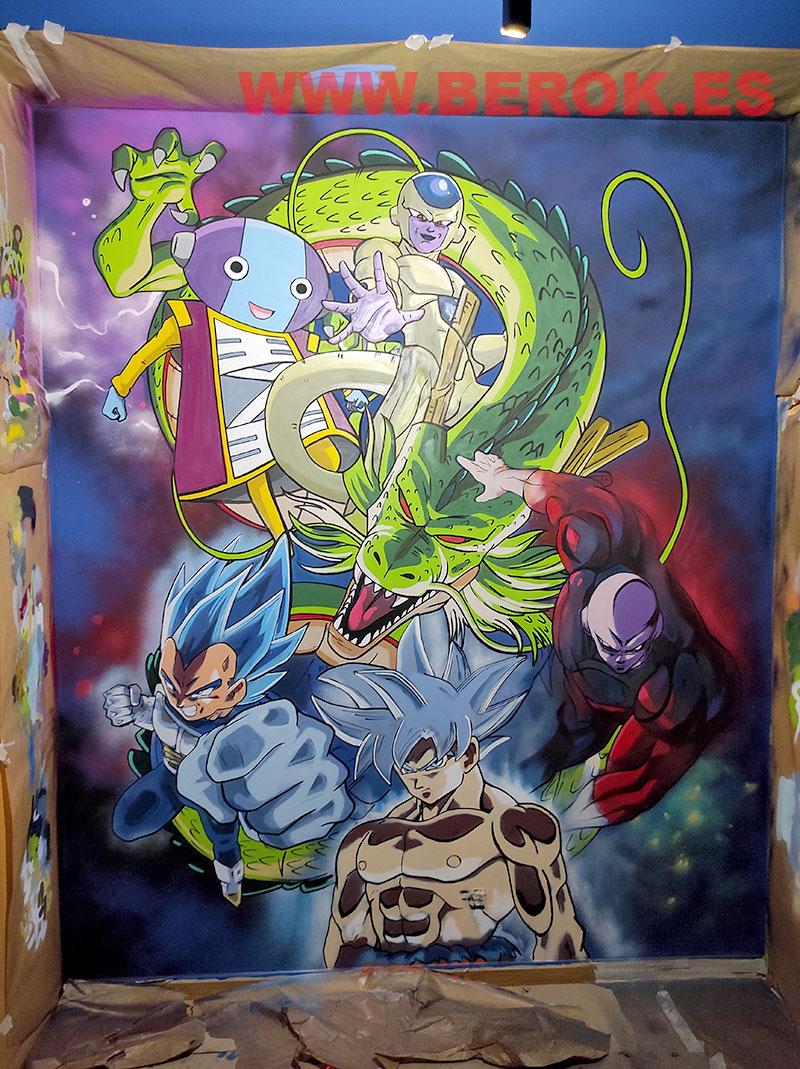 graffiti dragon ball super