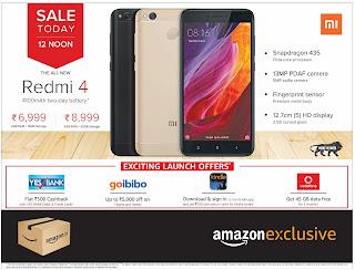 REDMI SALE LATEST OFFERS AMAZON EXCLUSIVE SALE