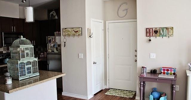 Beige Kitchen Walls With White Cabinets
