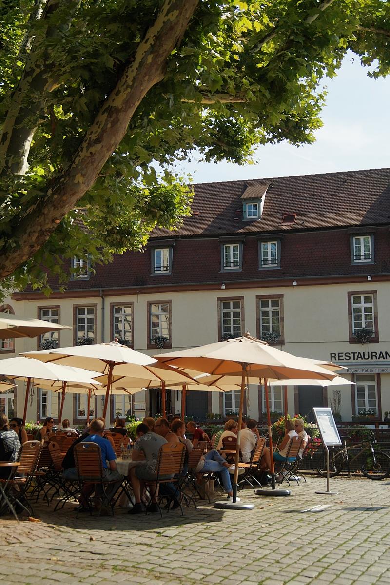 Restaurants in Petite France, Strasbourg, France // Tasteboykott Interrail Tour Summer