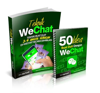 Teknik Jana Duit Dengan WeChat Sehingga 4 Angka
