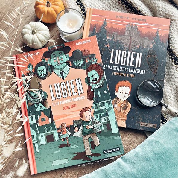 Lucien et les mystérieux phénomènes - Casterman