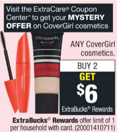 FREE Covergirl Easy Breezy Brow Pencils at CVS - 3/31-4/6