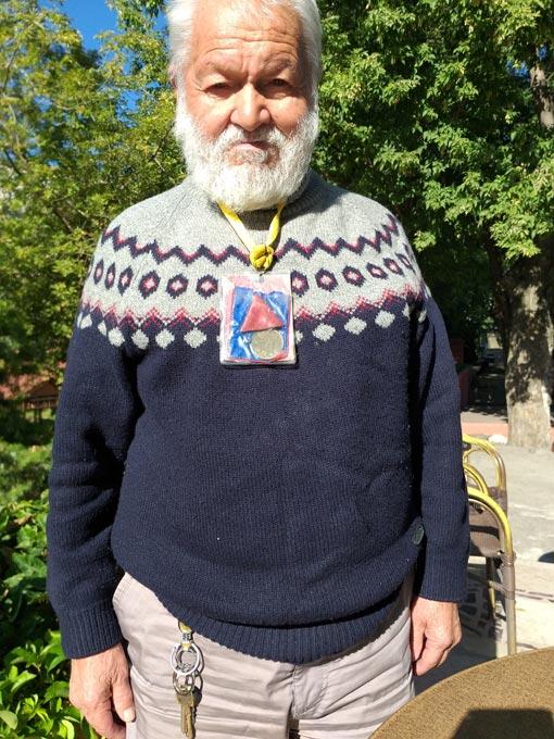 İstiklal Madalyalı emekli - Cevat Kulaksız