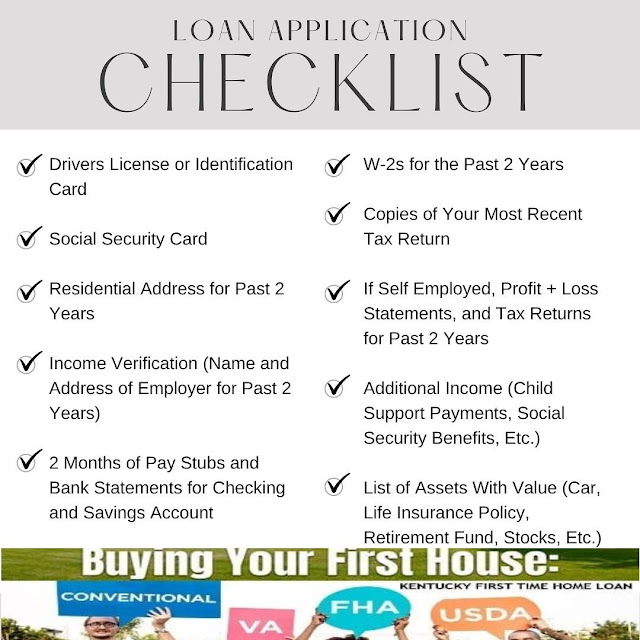Documents Needed Mortgage Approval in Kentucky