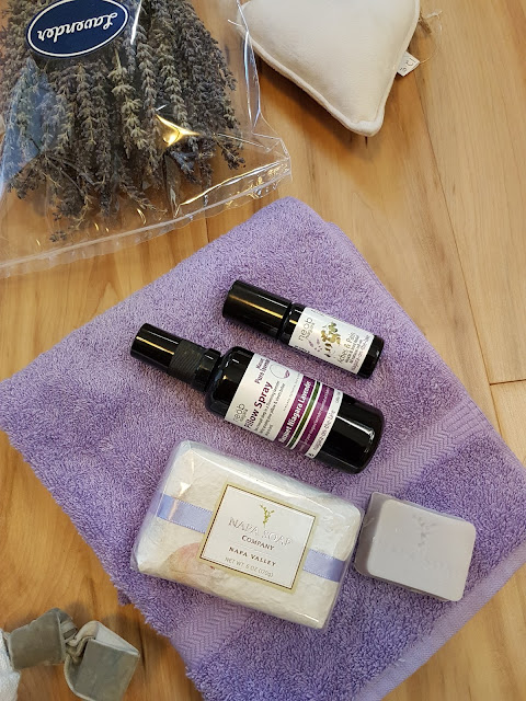 Lavender products to help anxiety