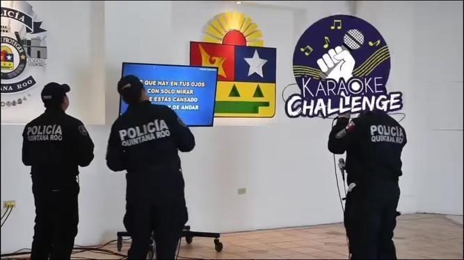 """Policía Quintana Roo regalará dinero con el """"Karaoke Challenge""""; ¿de que se trata?"""
