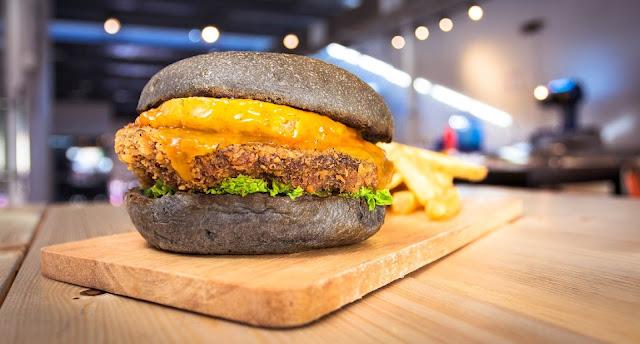 MyBurgerLab vegan burger