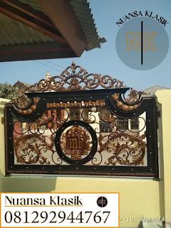 pagar klasik kabupaten subang