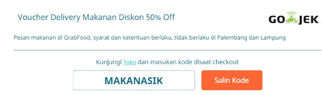 Kode promo Gojek April 2019 Terbaru ( GoPay, GoFood, GoRide, GoCar, dll)