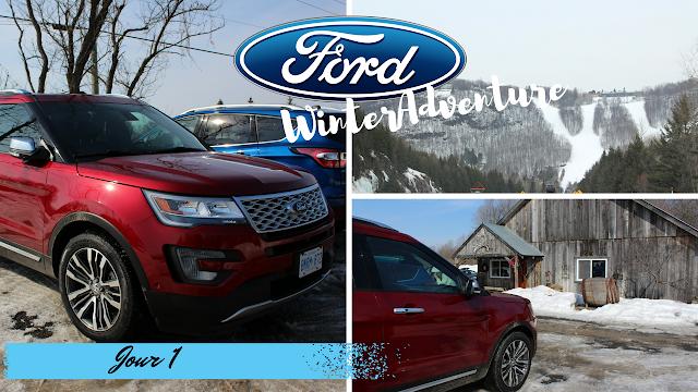 #FordWinterAdventure : Profitons de l'hiver avec Ford - Jour 1