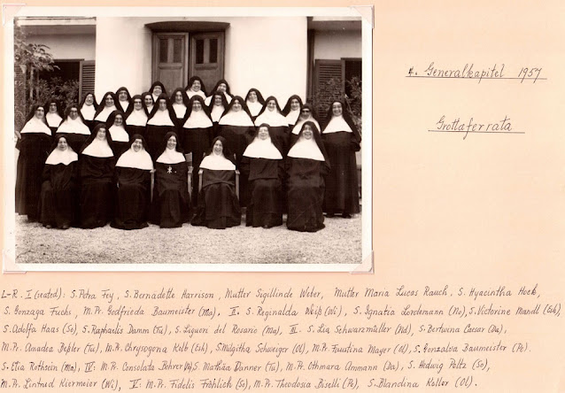 General Chapter 1957 Grottaferrata Italia 2