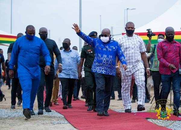 President Akufo-Addo Commissions Phase 1 Of Tema Interchange Project