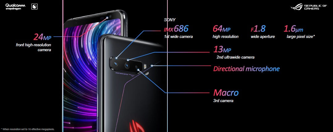 Triple Camera ROG Phone 3