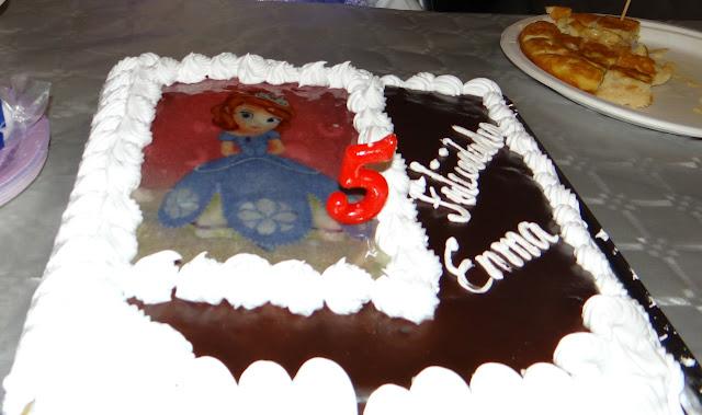 Tarta Princesa Sofía (Pastelería Bouquet)